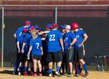 Team Cheering - Special Olympics Royalty Free Stock Photos
