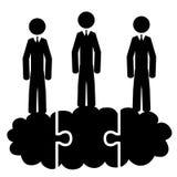 Team on cloud Stock Photos
