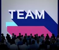 Team Collaboration Company连接团结概念 免版税库存图片