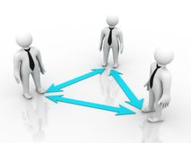 Team Communication Stock Photography