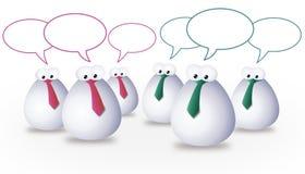 Team communication stock photo