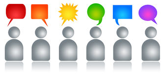 Team communication Royalty Free Stock Photo