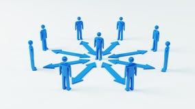 Team Communication Stock Image