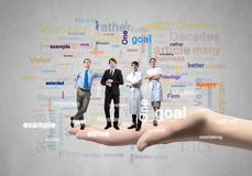 Team concept Royalty Free Stock Photos