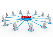 Team concept Royalty Free Stock Photography