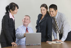 Team conference meeting. Royalty Free Stock Image