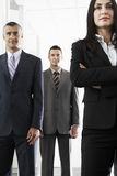 Team Of Confident Business People Royalty Free Stock Photo
