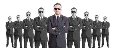 Team of confindent business people Stock Photography