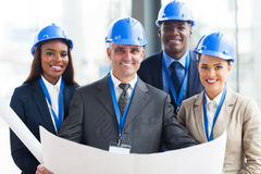 Team construction managers Royalty Free Stock Photography