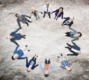 Team Corporate Togetherness Unity Connection Concept Stock Photos