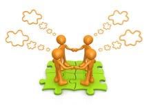 Team-Denken Lizenzfreies Stockfoto