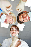 Team of dentists having an idea Stock Images