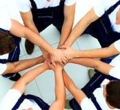 Team der Arbeitskraft-Verbindung Stockbild