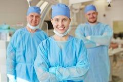 Team der Chirurgen lizenzfreie stockfotos
