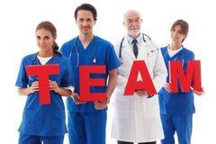 Team der Doktoren Stockbild