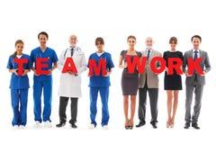 Team der Doktoren Stockbilder