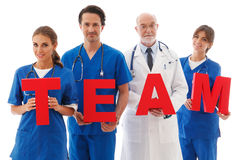 Team der Doktoren Lizenzfreie Stockbilder