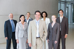Team der Geschäftsleute Stockfotos