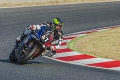 Team der Herausforderungs-2R 24 Stunden Catalunya-Motorradfahren Lizenzfreies Stockbild