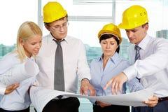 Team der Ingenieure Lizenzfreie Stockfotos
