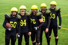 Team des amerikanischen Fußballs lizenzfreie stockfotografie