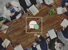 Team Discussion Diagnose Disease Concept médical photo stock