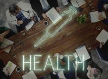 Team Discussion Diagnose Disease Concept médico imagem de stock