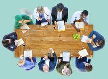 Team Discussion Diagnose Disease Concept medico Fotografie Stock