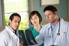 Team of diverse healthcare providers. Stock Photos
