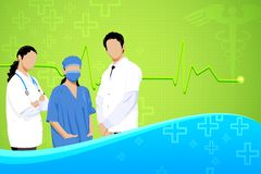 Team of Doctor Stock Image