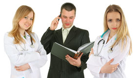 Team of doctors Royalty Free Stock Photo