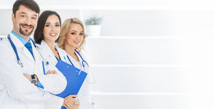 Team of doctors Royalty Free Stock Image