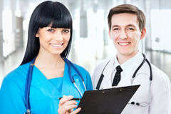 Team of doctors Stock Photography