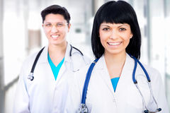 Team of doctors Royalty Free Stock Photos