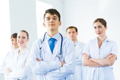 Team of doctors Stock Photo