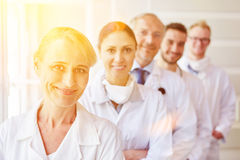 Team of doctors at hospital Royalty Free Stock Photo