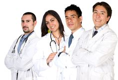 Team of doctors and nurses Stock Photography