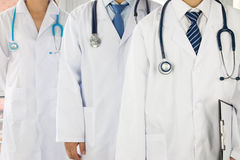 Team of doctors and nurses stock images