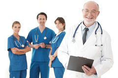 Team of doctors and nurses Royalty Free Stock Photo