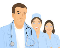 Team of doctors Royalty Free Stock Photography