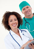 Team of Doctors Working Together Royalty Free Stock Photo