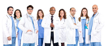 Team Doktors stockbild