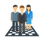 Team dream vector illustration. Stock Photos