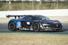 Team Duqueine Engineering Renault RS01 FGT3 24 ore di Barcellona Immagine Stock