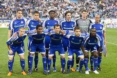 Team-Dynamo (Kiew) Stockfotografie
