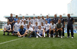 Team Dynamo Moscow's Stock Photo