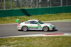Team Ebimotors Porsche 911 (997) GT3 Cup at Monza Stock Photos