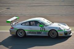 Team Ebimotors Porsche 911 (997) GT3 Cup at Monza Royalty Free Stock Images