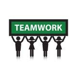 Team el trabajo Foto de archivo libre de regalías