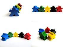 Team en Diversiteit royalty-vrije stock foto